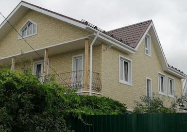 Монтаж фасадных панелей Docke